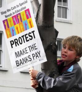 child protest
