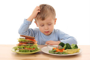 child-vegetables