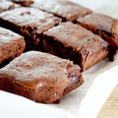 Almost No-Fat Brownies