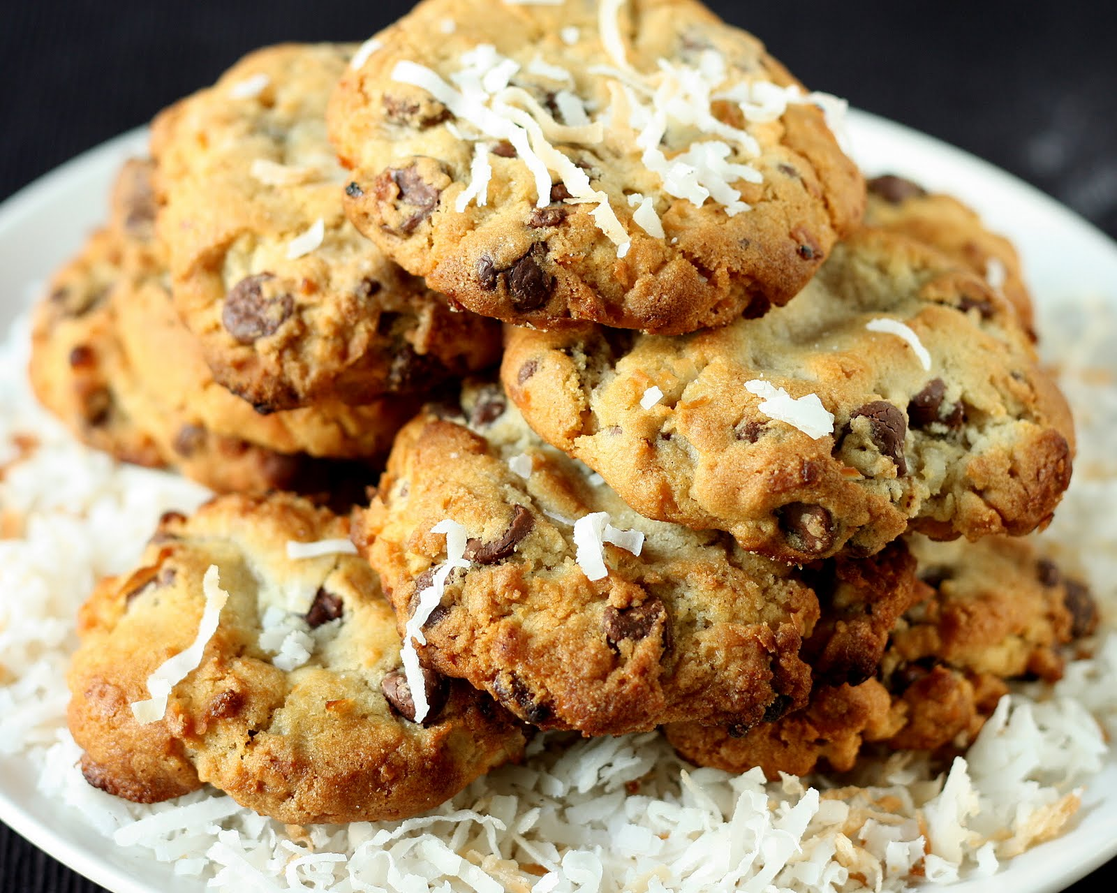 Coconut, Chocolate Chunk, And Walnut Cookies Recipes — Dishmaps
