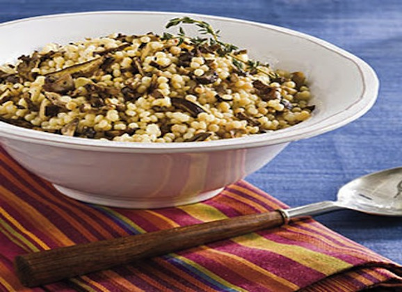 Herb and Onion Couscous