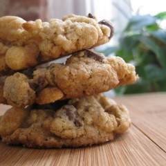Oatmeal Nut Butter Cookies