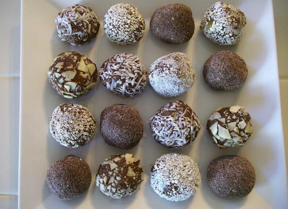 Soy Protein Truffles