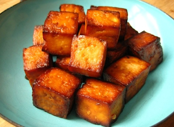 Orange Flavored Tofu