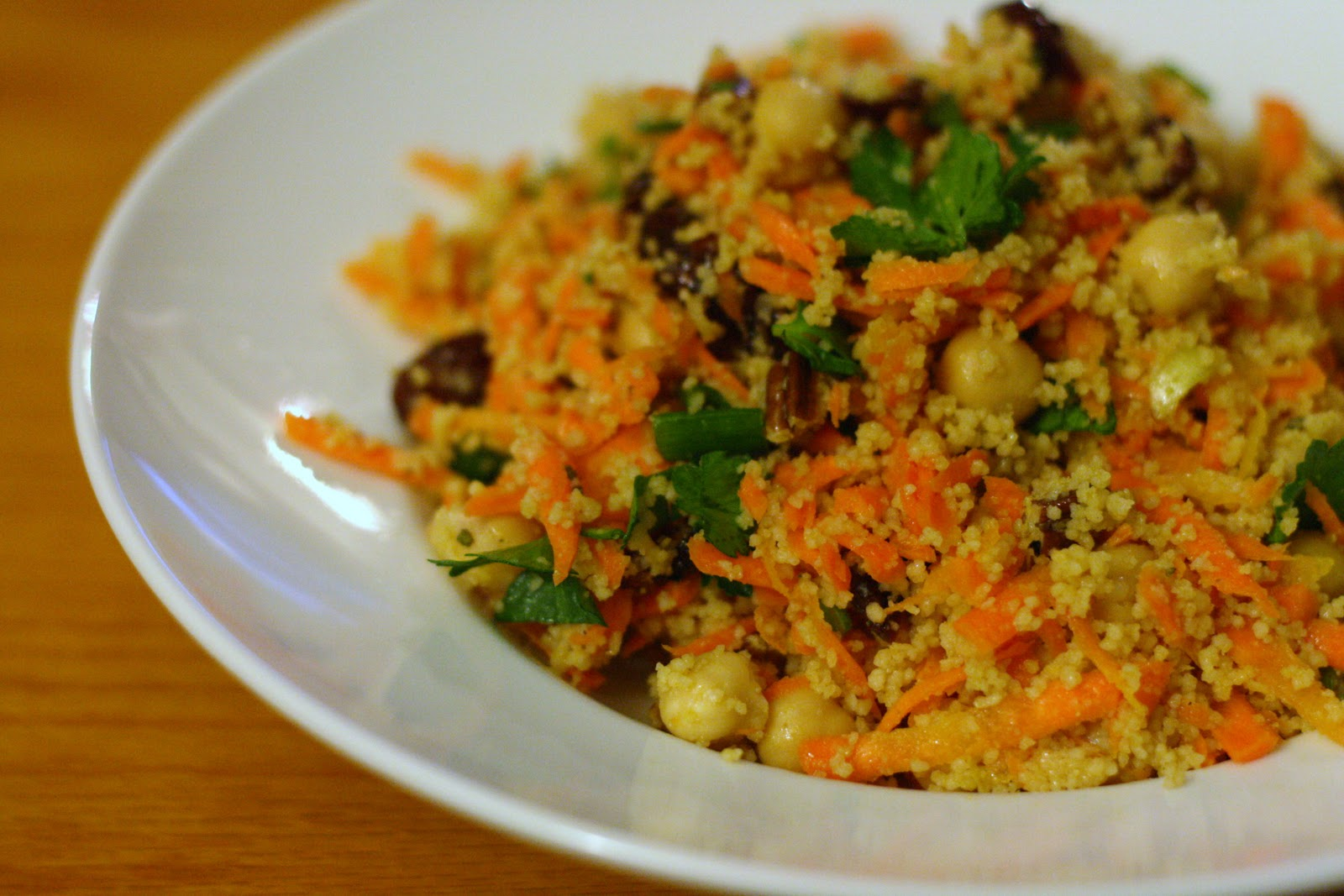 Spicy Couscous with Chickpeas
