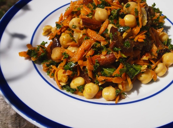 Carrot and Chickpea Salad