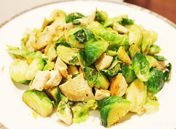 Stir-Fried Brussel Sprouts
