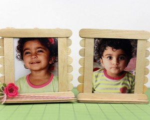 Popsicle-Photo-Frames