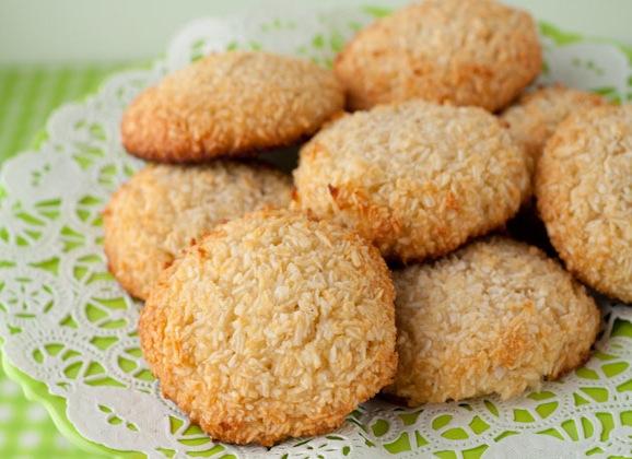 Coffee Coconut Cookies