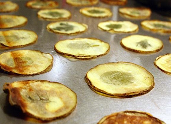 Window Pane Potato Chips