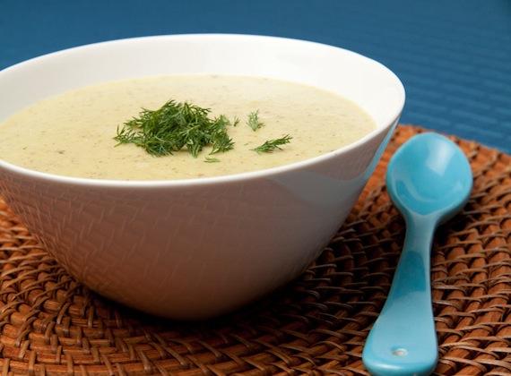 Creamy Potato Dill Soup